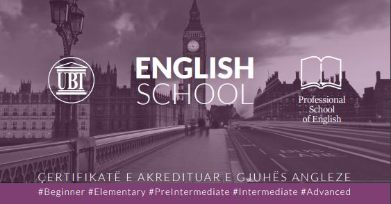 Shkolla Profesionale për Gjuhë Angleze mundësi për avancim të kësaj gjuhe