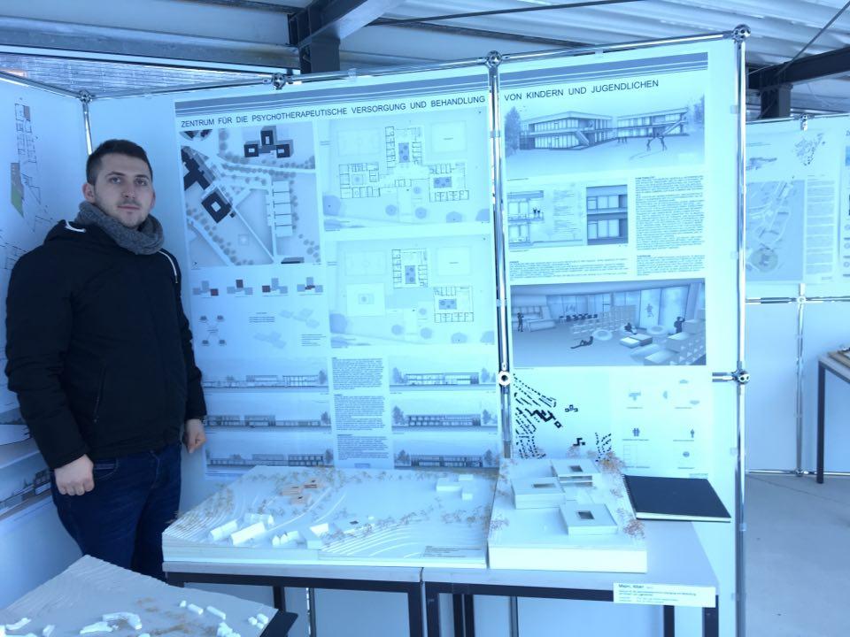 Ish-studenti i UBT-së, projektues i shumë ndërtesave të njohura në Gjermani