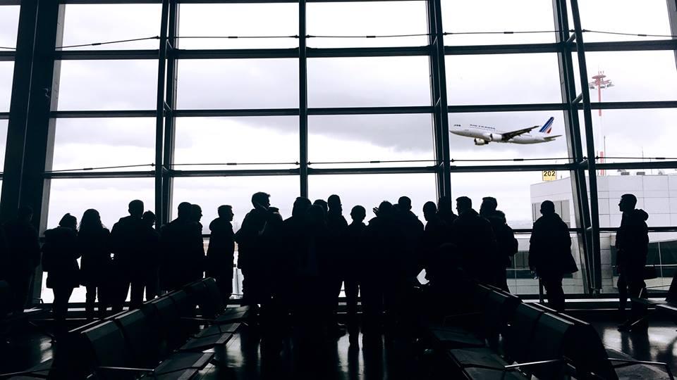 """Studentët e Inxhinierisë së Ndërtimit dhe Infrastrukturës vizituan Aeroportin Ndërkombëtar të Kosovës, """"Adem Jashari"""""""