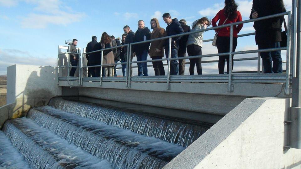 Studentët e Inxhinierisë Ndërtimore dhe Infrastrukturës vizituan impiantet në Shkabaj dhe Mramor