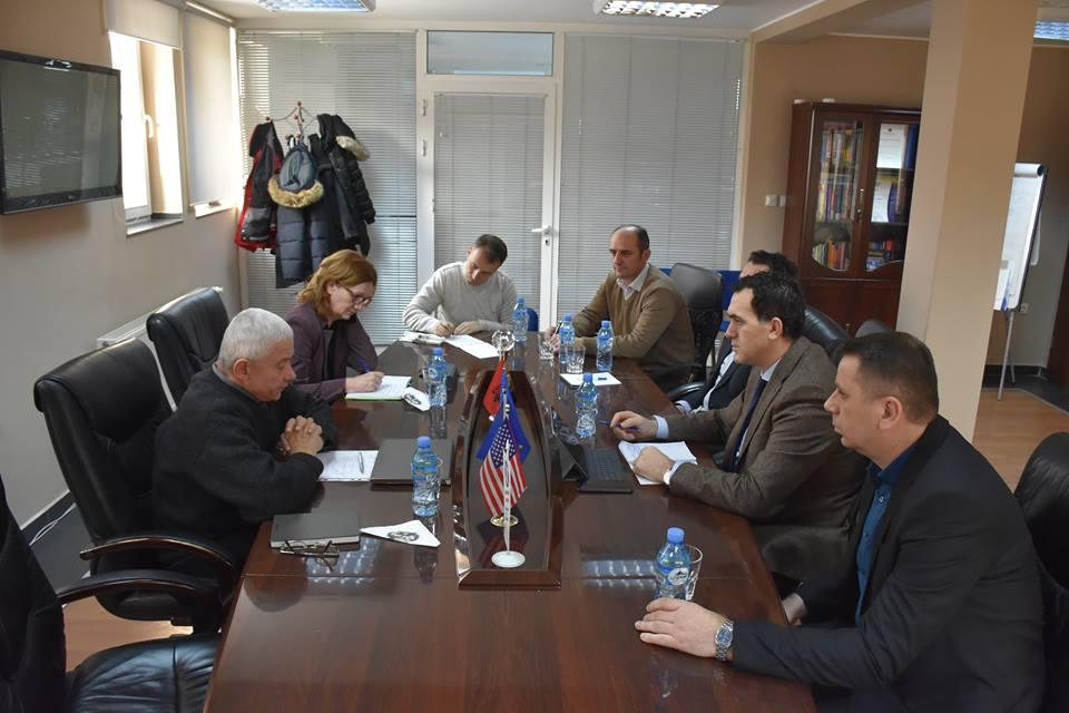 """Përfaqësuesit e UBT-së dhe Universitetit të Zagrebit diskutojnë për zhvillimin e projektit """"BESTSDI"""""""