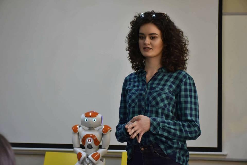 """Studentja e UBT-së, pjesë e Universitetit """"Nova de Lisboa"""", në Lisbonë"""