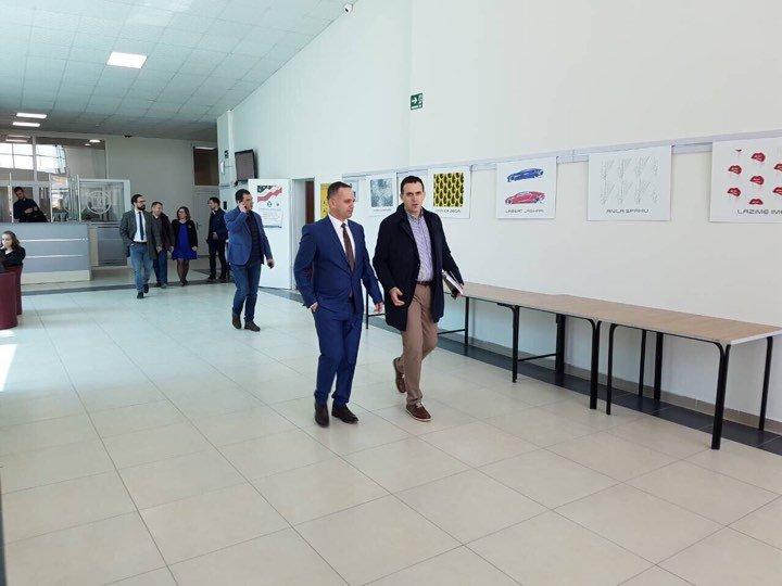 Zv. ministri Bujar Cakolli vizitoi UBT-në