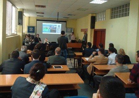 UBT ka sjellë robotët e gjeneratës së fundit të NAO-së në Republikën e Kosovës