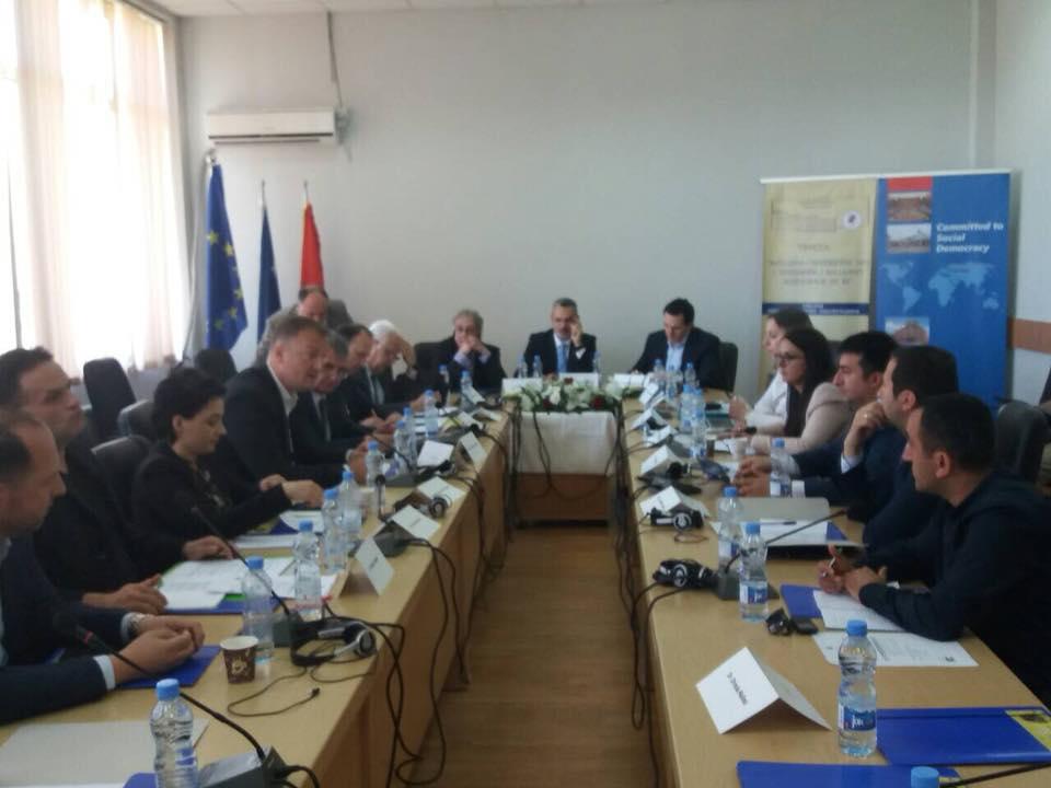 """Rektori Hajrizi mori pjesë në tryezën """"Integrimi i pjesshëm apo i tërësishëm i Ballkanit Perëndimor në BE"""""""