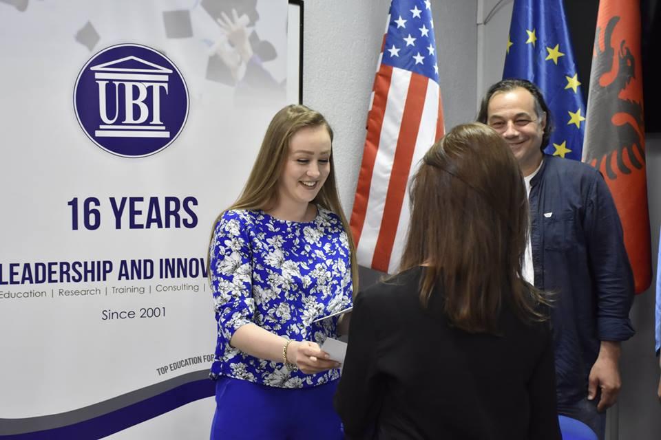 UBT certifikon 10 kandidatë për Cicëronë Turistikë