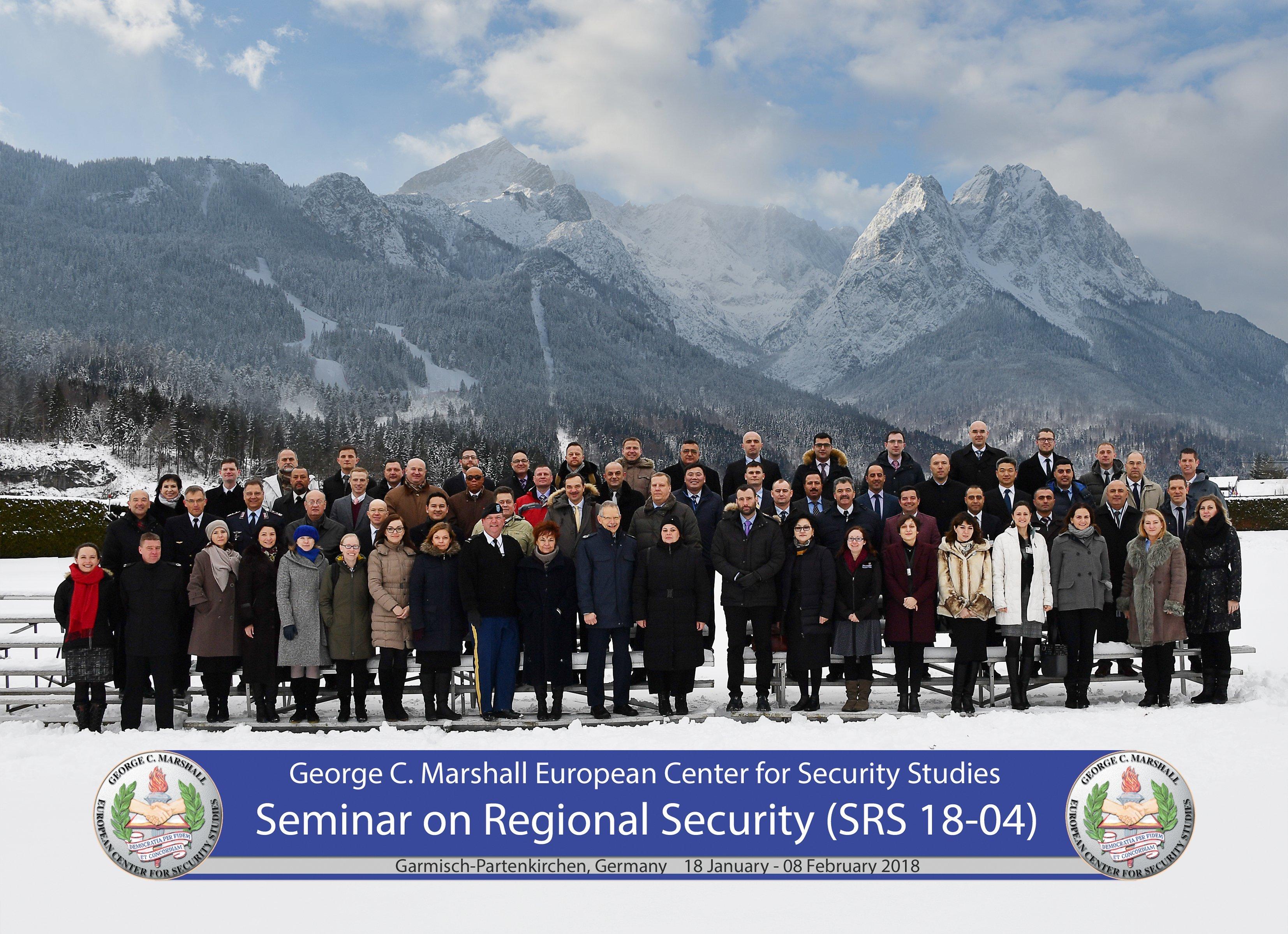 Drejtori i Institutit për Politikë dhe Marrëdhënie Ndërkombëtare, pjesëmarrës në Seminarin për Siguri Rajonale, në Gjermani