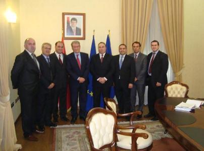 Rektori i UBT-së takoi kryeministrin e Shqipërisë, Sali Berisha