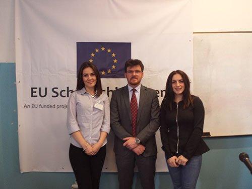 Studentët dhe ligjëruesi i UBT-së morën pjesë në Shkollën Dimërore për të Drejtën Evropiane