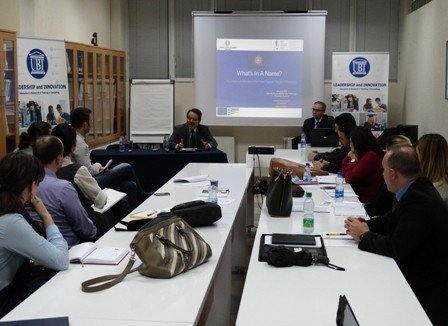 Greek Ambassador Moscopoulos Delivers Lecture in Front of UBT Students