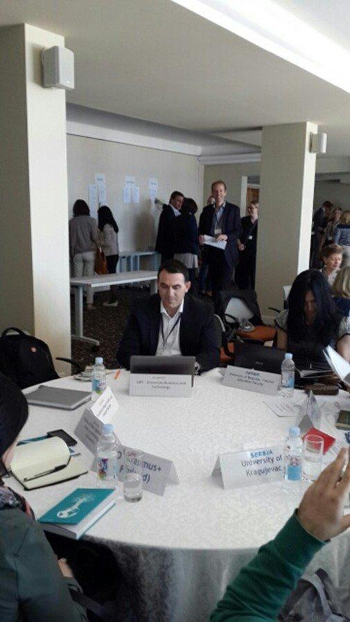 UBT Leaders Meet Representatives of Numerous Universities in Dubrovnik