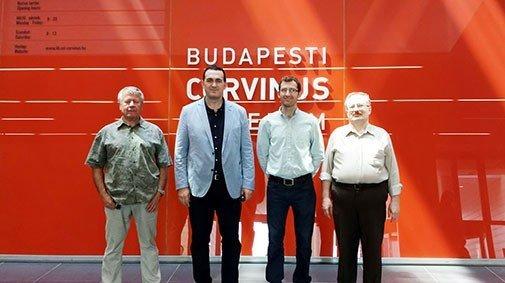 UBT realizon vizitë të suksesshme në Corvinus University – Budapest