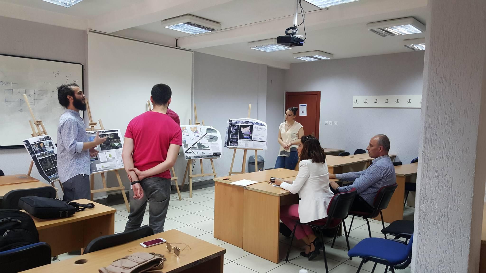 Studentët e UBT-së prezantojnë 64 raste urbane të hulumtuara në terren