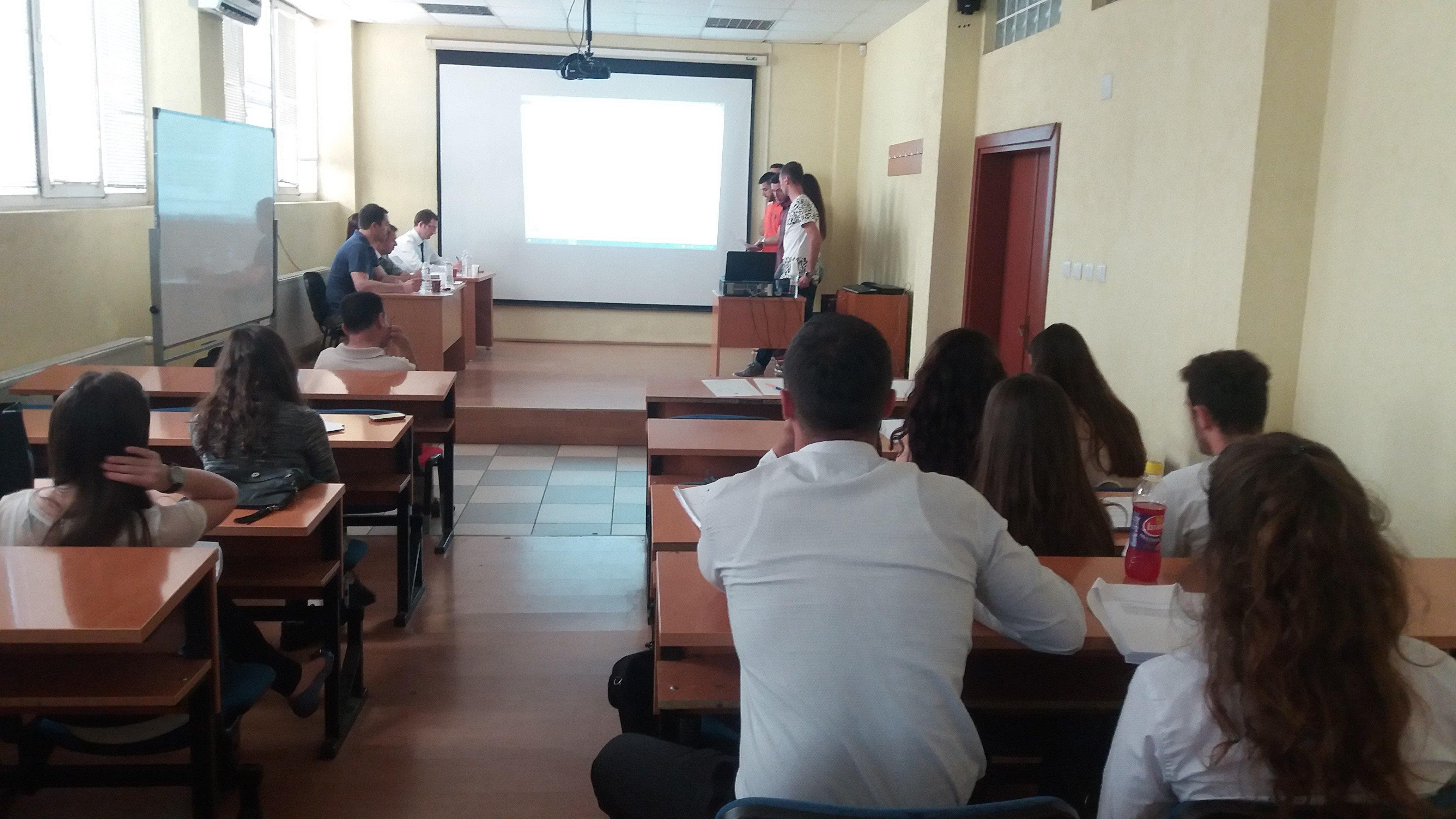 Studentët e MBE-së prezantojnë hulumtimet profesionale