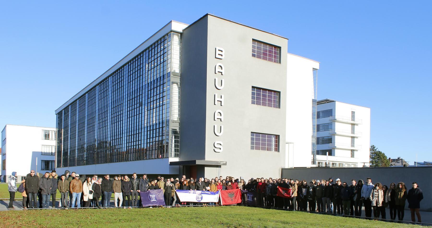 Studentët e UBT-së vizitojnë qendrat evropiane të arkitekturës