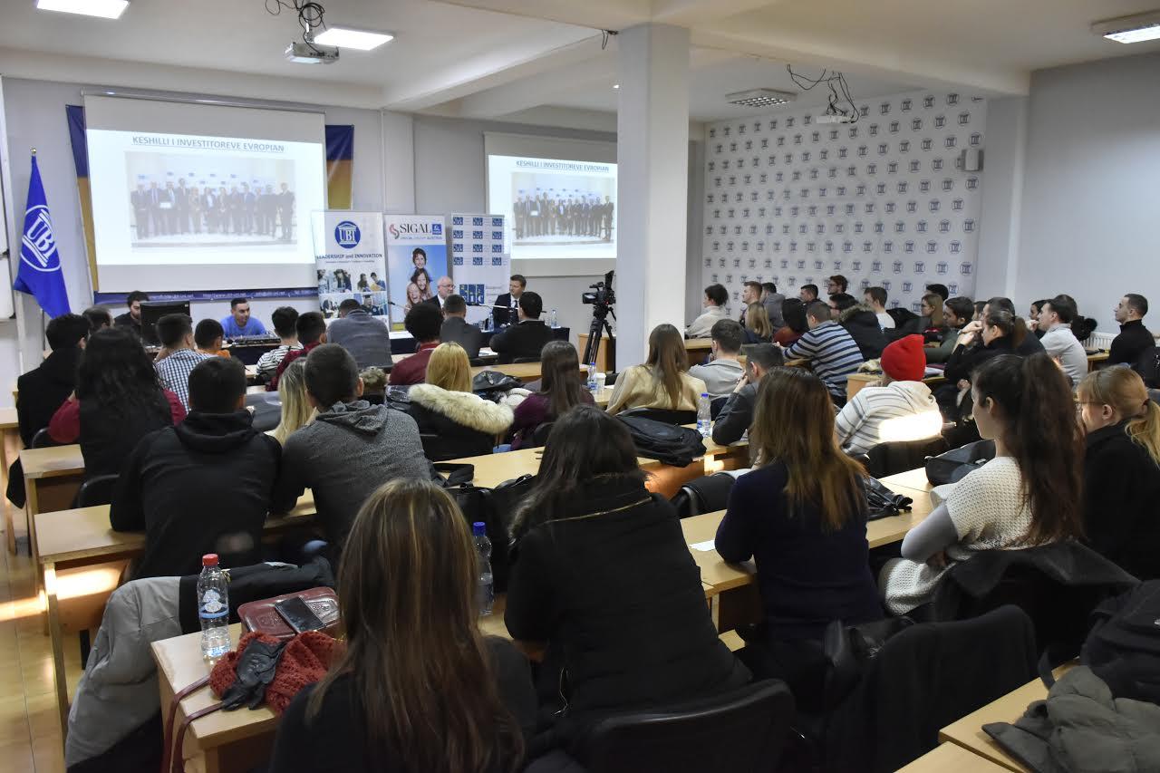 Njoftim: Në UBT mbahet debati për lidership, ndërmarrësi dhe inovacion