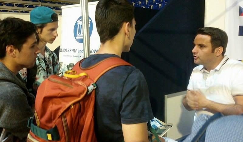 UBT-ja në Panair, fokus i maturantëve për orientim studimi