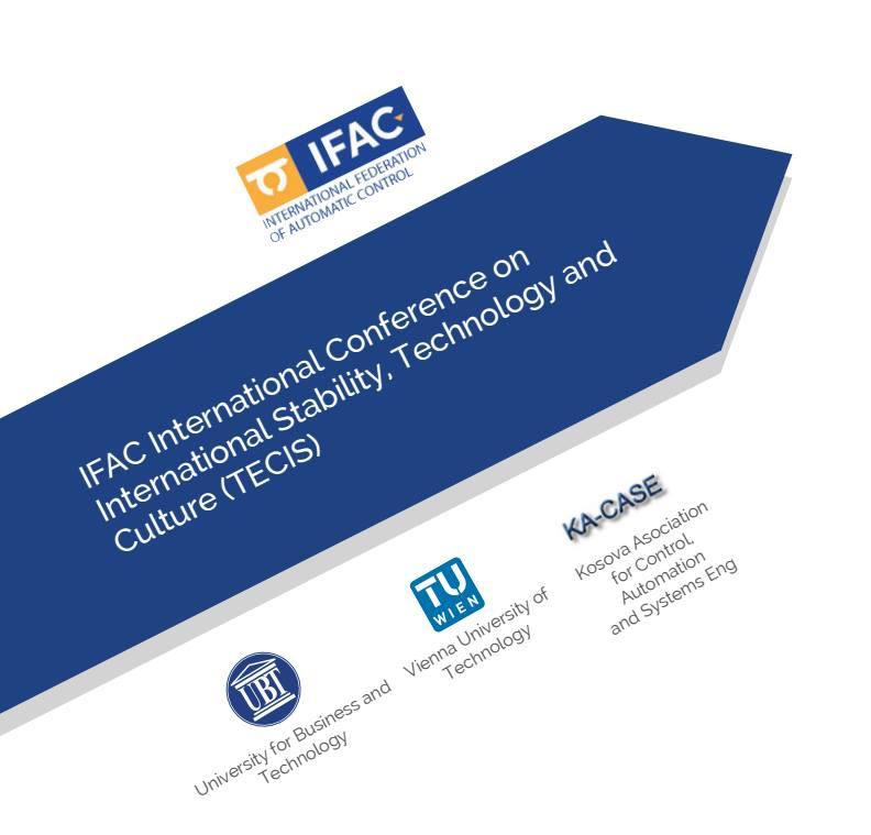 """Nesër, në Durrës, fillon Konferenca Ndërkombëtare për Stabilitet, Teknologji dhe Kulturë """"Tecis 2016"""" – UBT bashkorganizatore"""