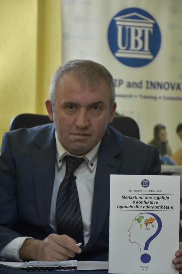 Profesori Zejnullahi: Dialogët janë baza e zgjidhjes së konflikteve