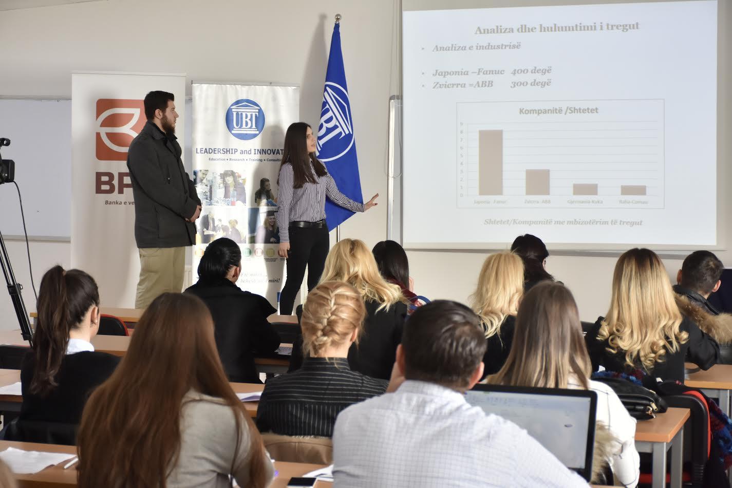 Projektet e studentëve të UBT-së, të zbatueshme edhe në praktikë