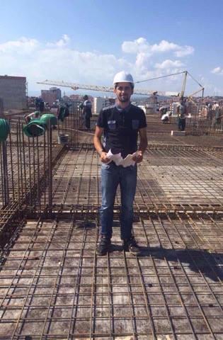 Studenti i UBT-së, Ermal Osaj i angazhuar në kompani të ndërtimit