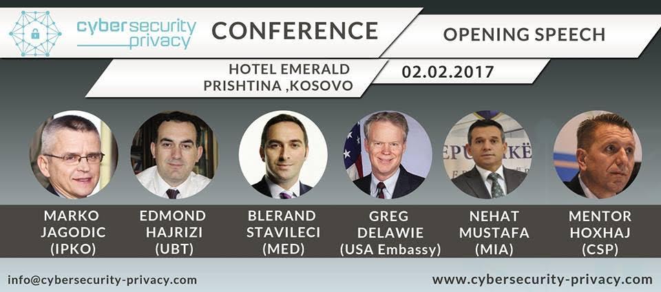 UBT, bashkorganizatore e konferencës më të madhe për siguri dhe privatësi