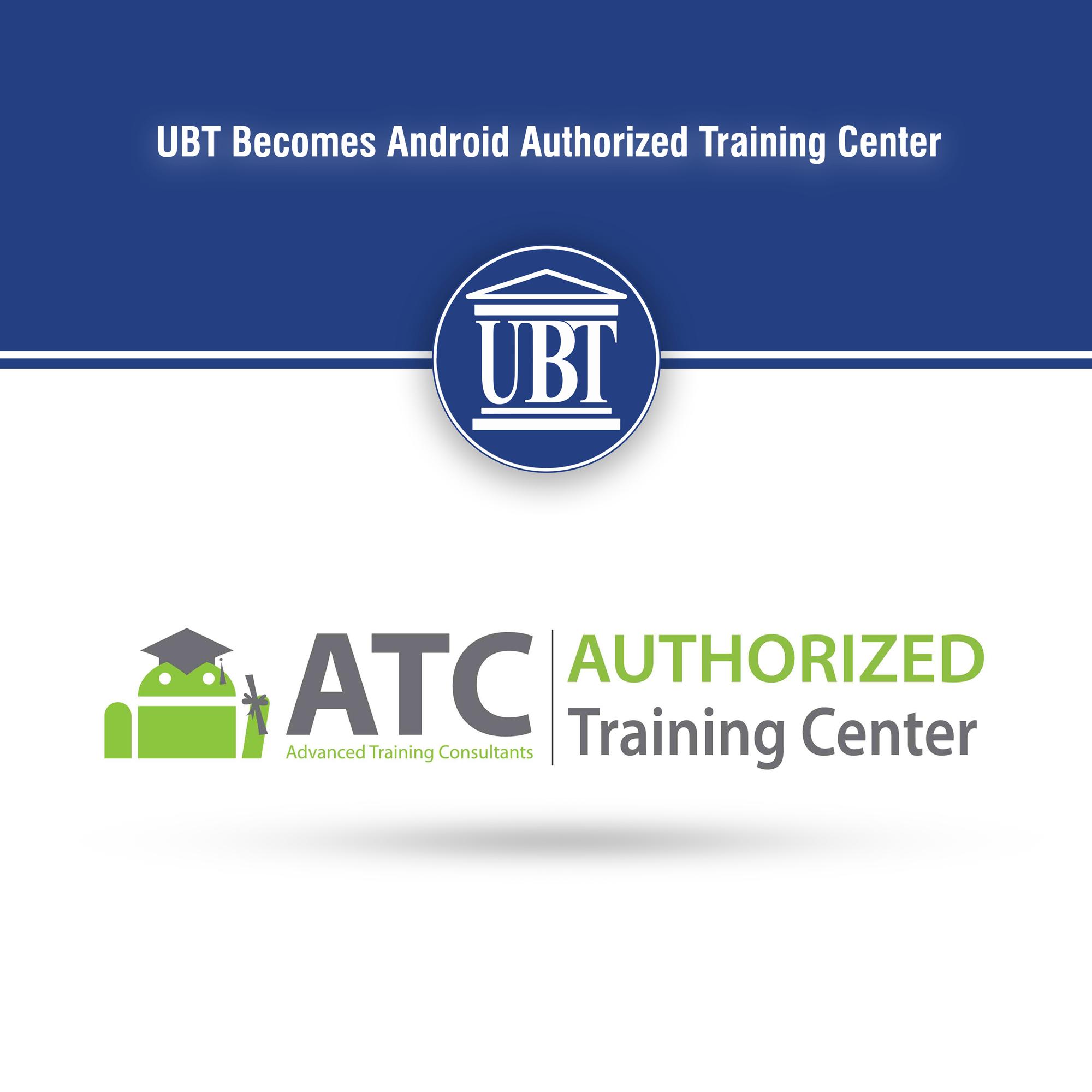 """UBT-ja e autorizuar për trajnim dhe testim të """"Android ATC"""""""