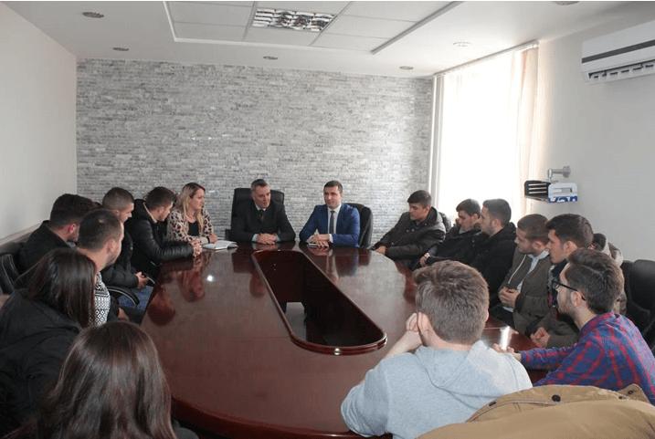 Studentët e Inxhinierisë ndërtimore vizituan komunën e Lipjanit
