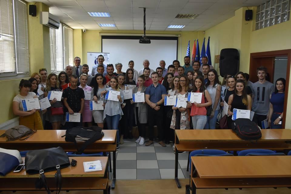 Përfundon aktiviteti i Shkencave Politike në ANV, ndahen certifikata për pjesëmarrësit