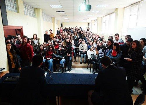 Në UBT u mbajt sesioni informativ për bursat e Forumit Evropian të Alpbach dhe IG Alpbach Kosova