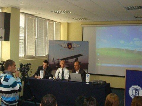 James Berisha  vazhdon lobimin  për pavarësinë e Kosovës