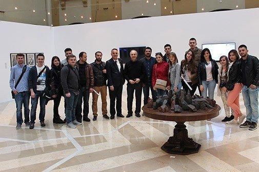 """Studentët e Arkitekturës në UBT vizituan universitetin e Arkitekturës dhe Dizajnit """"Kadir Has Universitesi"""" në Stamboll"""