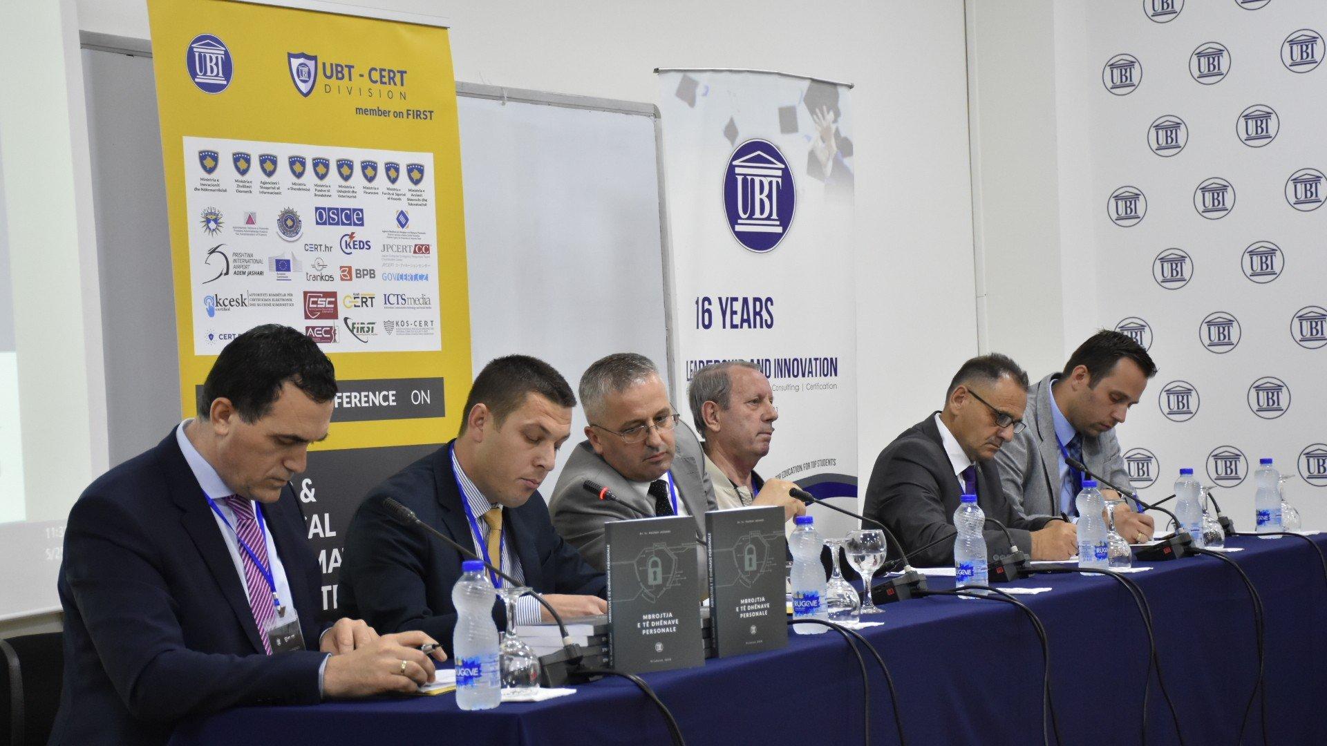 Në UBT u mbajt konferenca nacionale për mbrojtjen e të dhënave personale (Foto&Video)