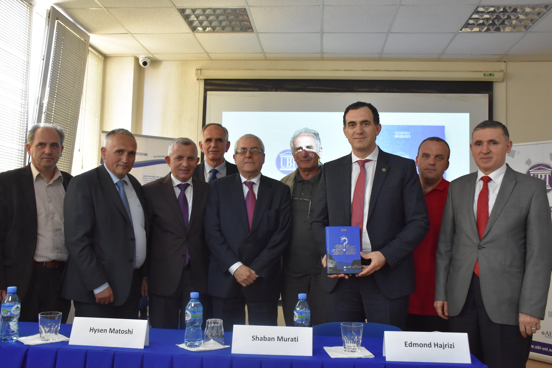 """Promovohet libri """"Çështja e paqenë e detit: Një intrigë diplomatike greke apo shqiptare"""", i autorit Shaban Murati"""