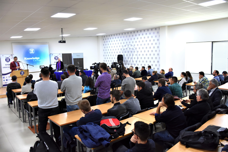 Në UBT u inaugurua Qendra e Dijes, platformë për centralizimin e dijeve