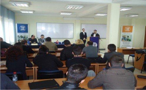 Kohler e Makolli diskutuan me studentët e UBT-së