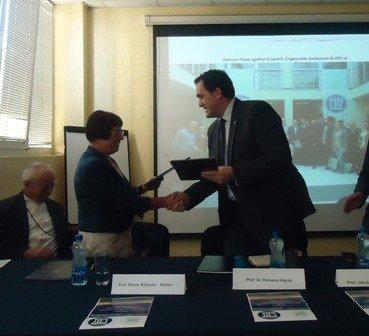 UBT-ja nënshkruan marrëveshje bashkëpunimi me Universitetin Varshavës në Poloni