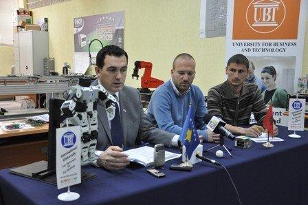 UBT organizon për herë të dytë Garën  Evropian të Robotëve që luajnë futboll