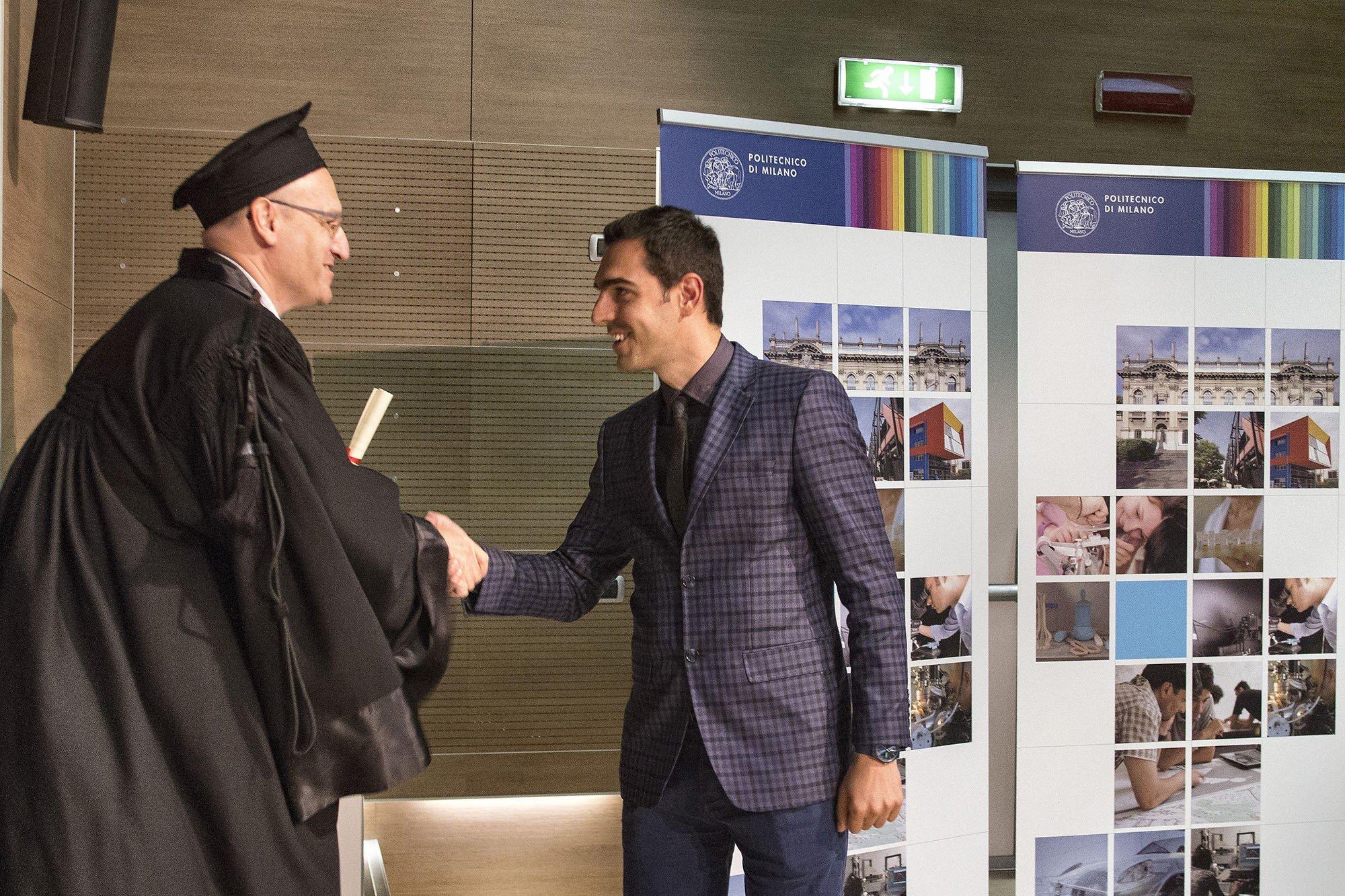 Profesori në UBT, Visar Krelani doktoron në Politeknikun e Milanos