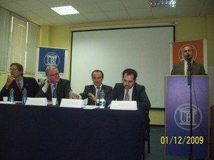 """Në  UBT u mbajt Konferenca me temën """"BE dhe Kosova: Sfidat e tashmja dhe e ardhmja"""
