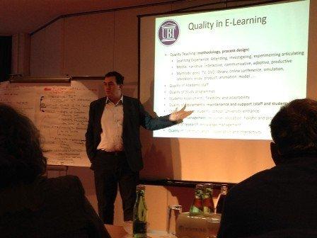"""UBT  ka marrë pjesë  në Konferencë  Ndërkombëtare """"Quality  in Blended Learning"""""""