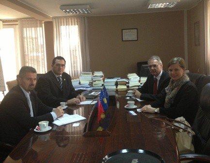 Delegacioni i Ambasadës së Republikës Federale të Gjermanisë në Prishtinë vizitoi UBT-në