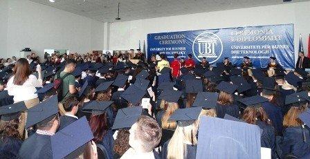 Në UBT u zhvillua Ceremonia e Diplomimit 2014