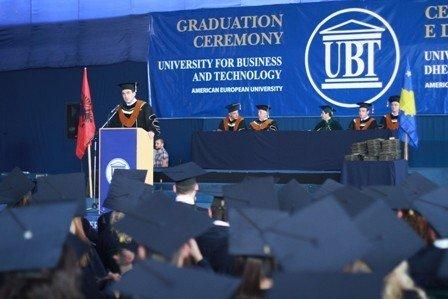 Në UBT u zhvillua Ceremonia e Diplomimit 2012