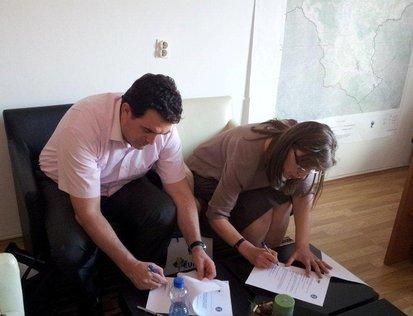 UBT  nënshkruan marrëveshje  bashkëpunimin me Agjencinë Zhvillimore Rajonale për Perëndimin
