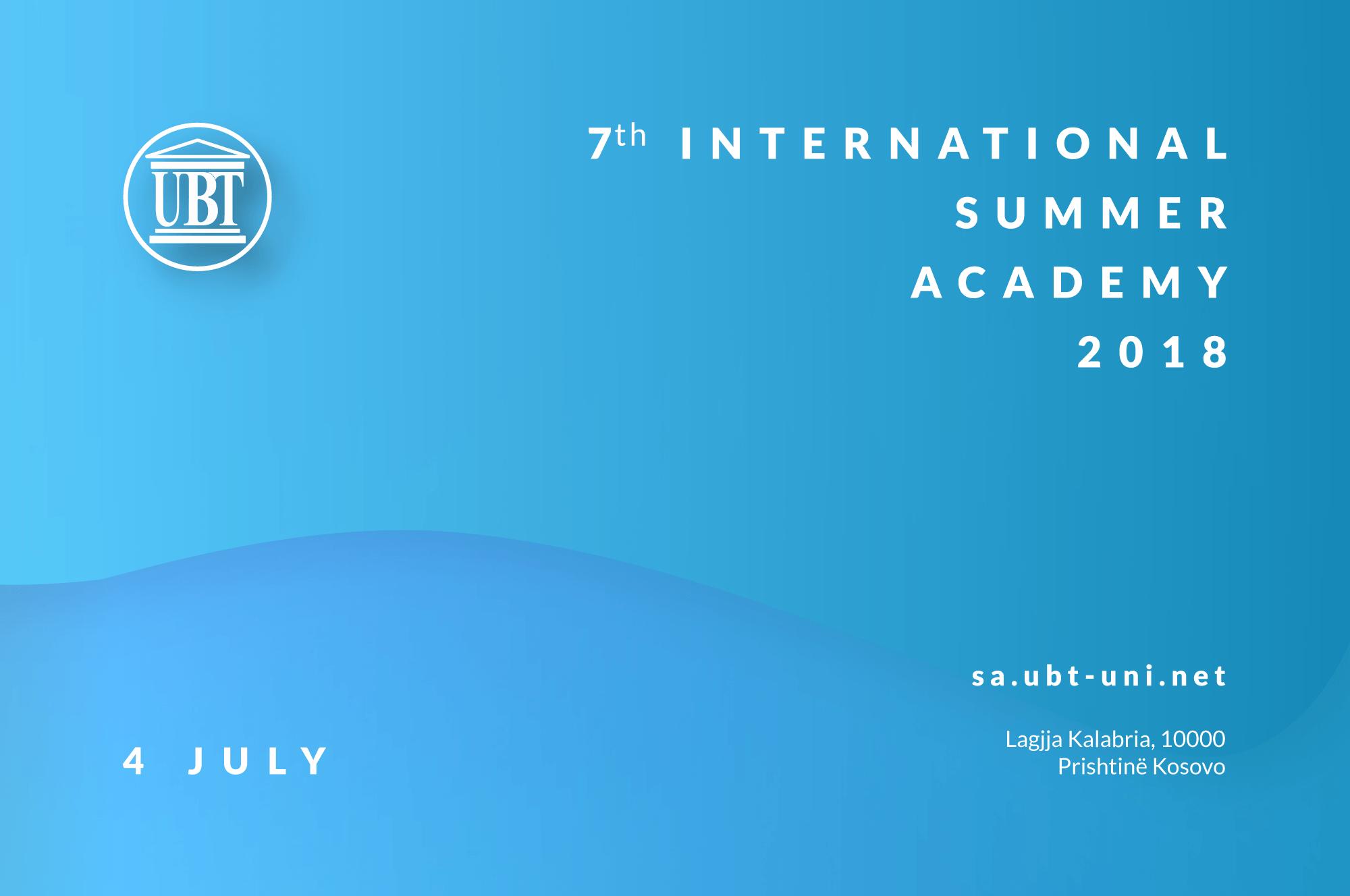 Në korrik nis aktivitetin Akademia Ndërkombëtare Verore e UBT-së (Video)