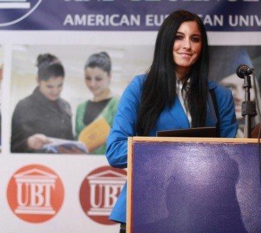Saranda Musliu zgjidhet Kryetare e Organizatës Studentore të UBT-së