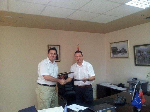 UBT  ka nënshkruar marrëveshje  bashkëpunimin me Universitetin e Vlorës