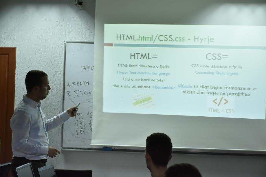 """Interesim i madh i kandidatëve për trajnimin """"Web Design and Development"""""""
