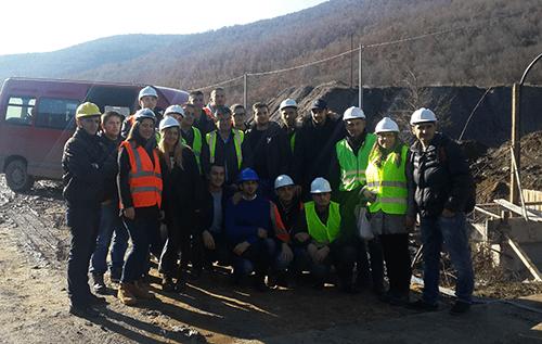 Studentët e Ndërtimtarisë në UBT vizituan fabrikën e përpunimit të ujit në Badovc